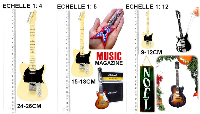 music legends collection.fabricant, d'instruments de musique